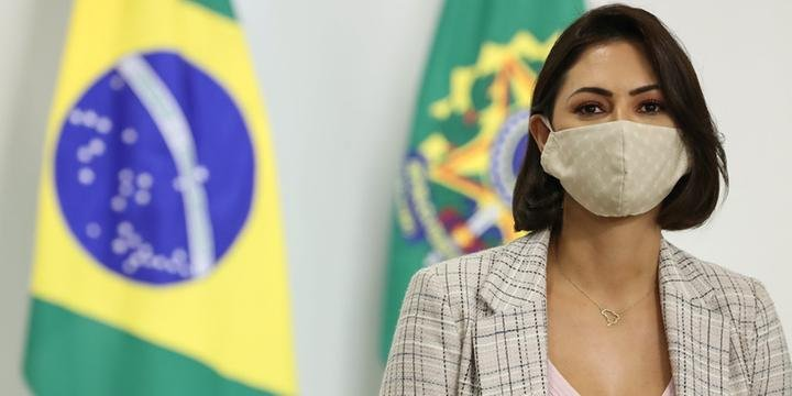 Michelle Bolsonaro é diagnosticada com Covid-19