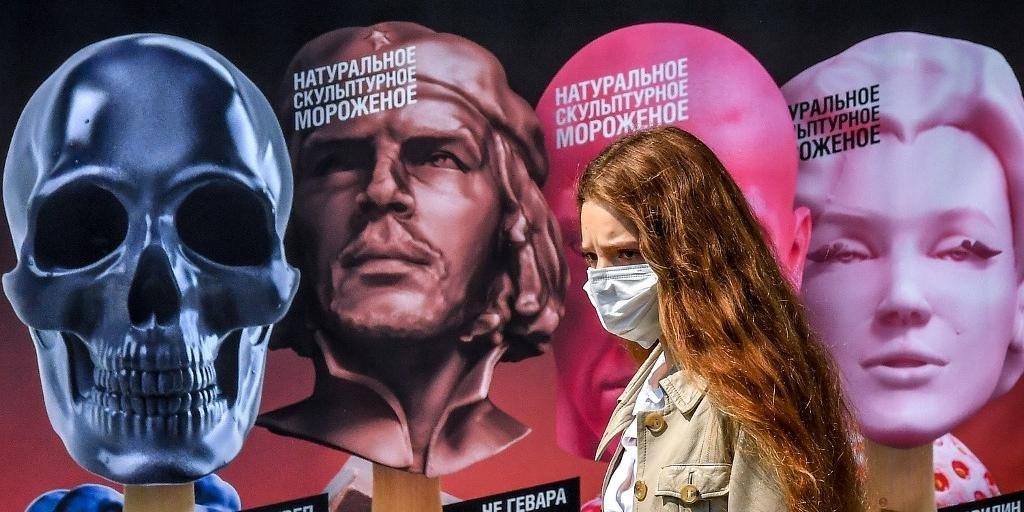 Rússia registrou até agora 843 mil casos de infecção pelo novo coronavírus e 14 mil mortos