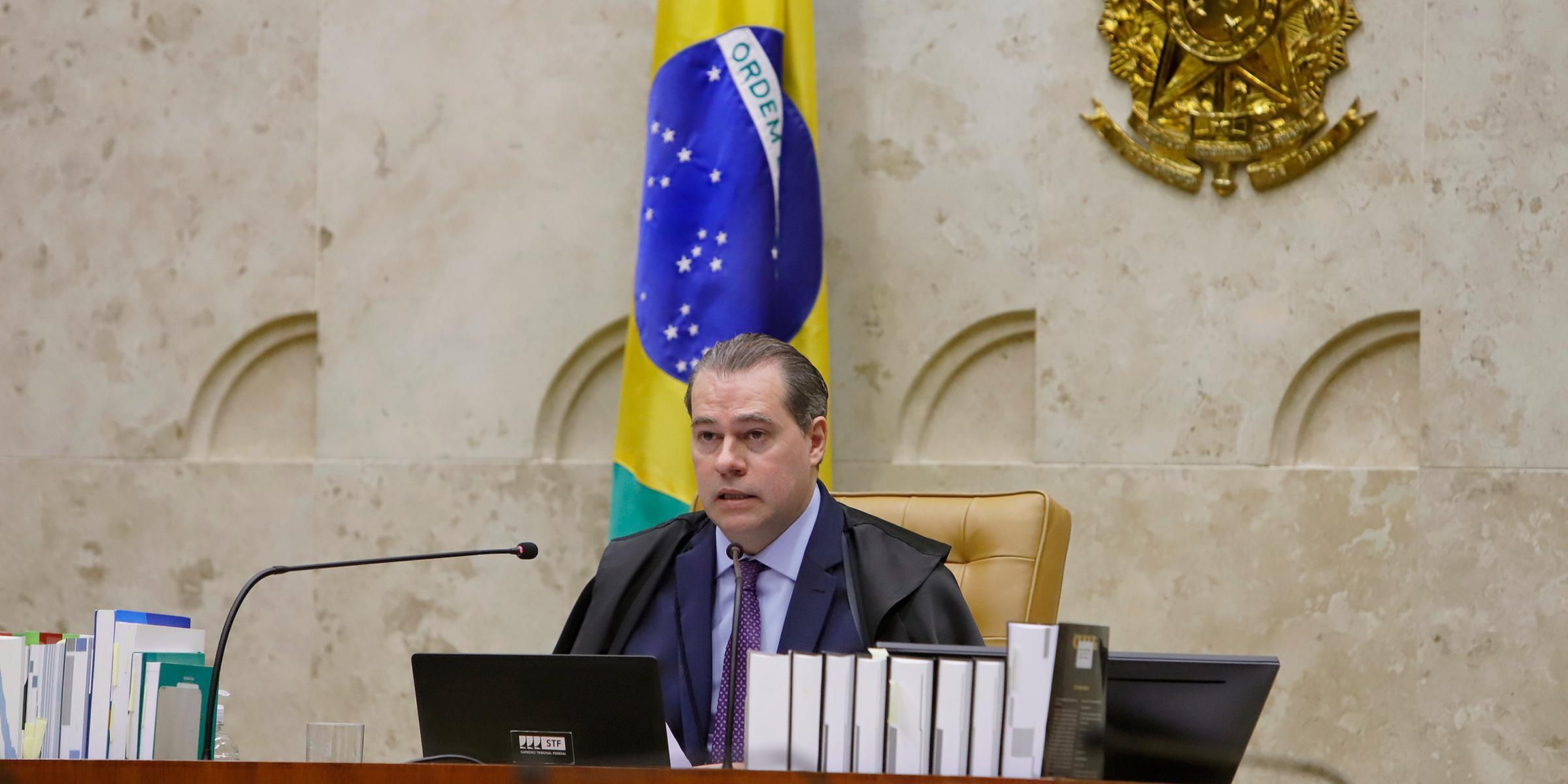 Pedido foi enviado ao presidente da Corte, ministro Dias Toffoli