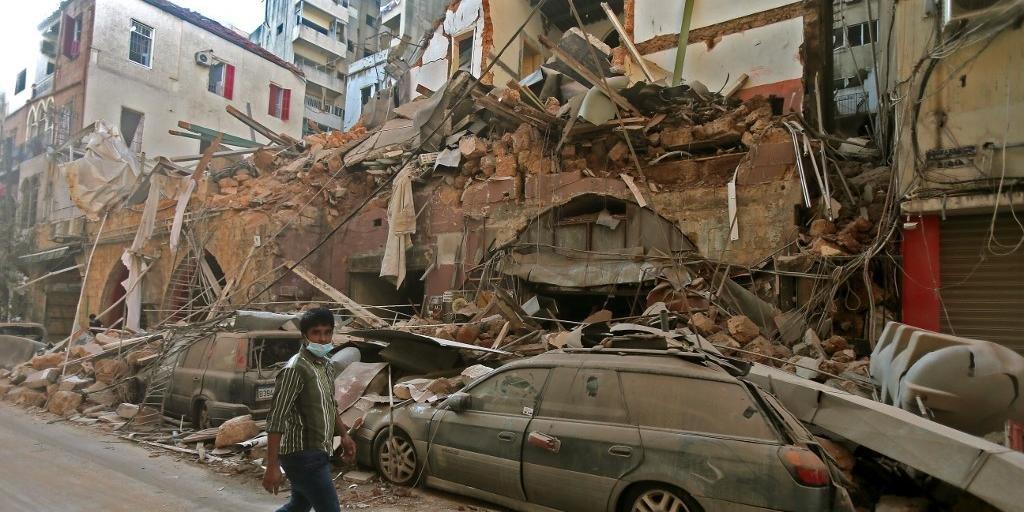 O Conselho de Defesa Nacional do Líbano declarou Beirute como uma zona de
