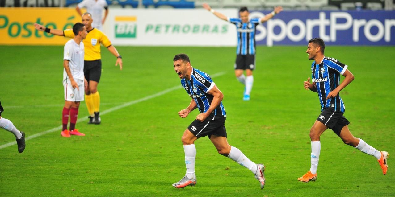 Diego Souza marcou mais uma vez e garantiu vitória do Tricolor por 1 a 0 sobre o Flu