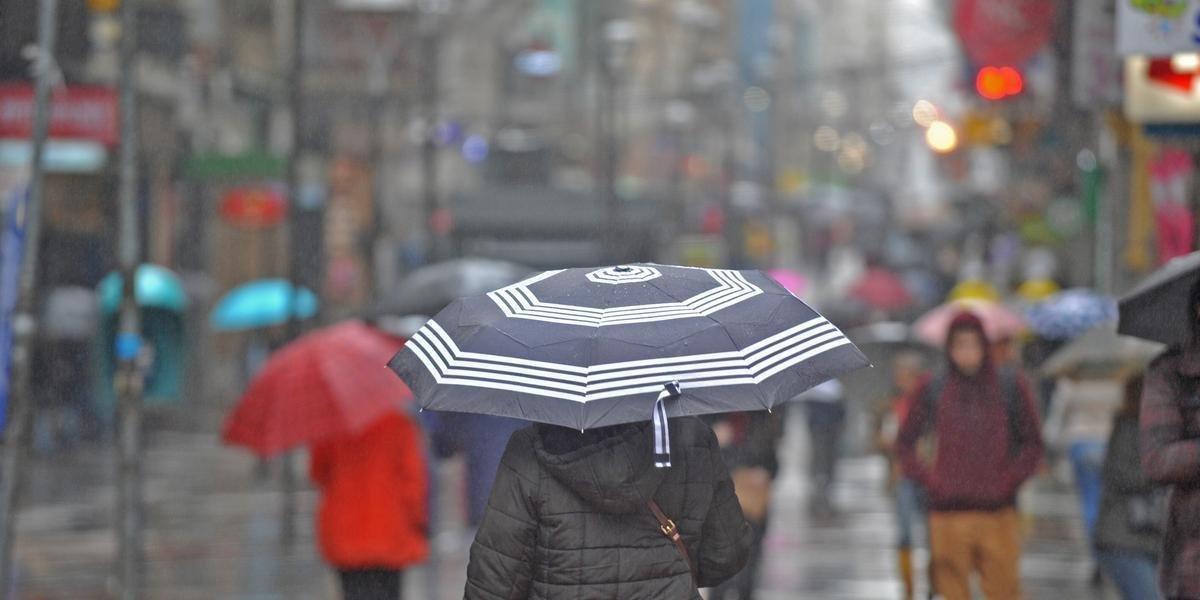 Chuva atinge o Estado nesta terça-feira