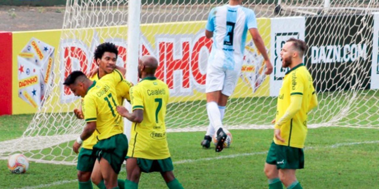 Vitória por 2 a 1 foi a primeira do Ypiranga na competição