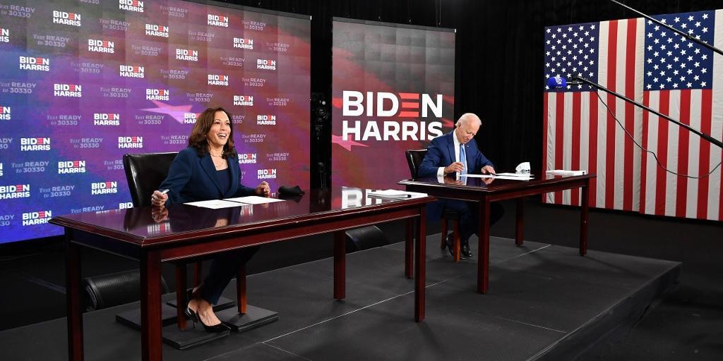 Biden tem a preferência dos eleitores independentes, segundo pesquisas
