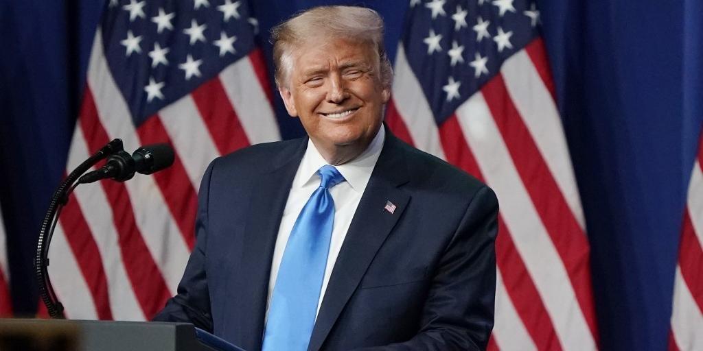 Trump disputará a eleição contra o democrata Joe Bide, que lidera as pesquisas de intenção de voto