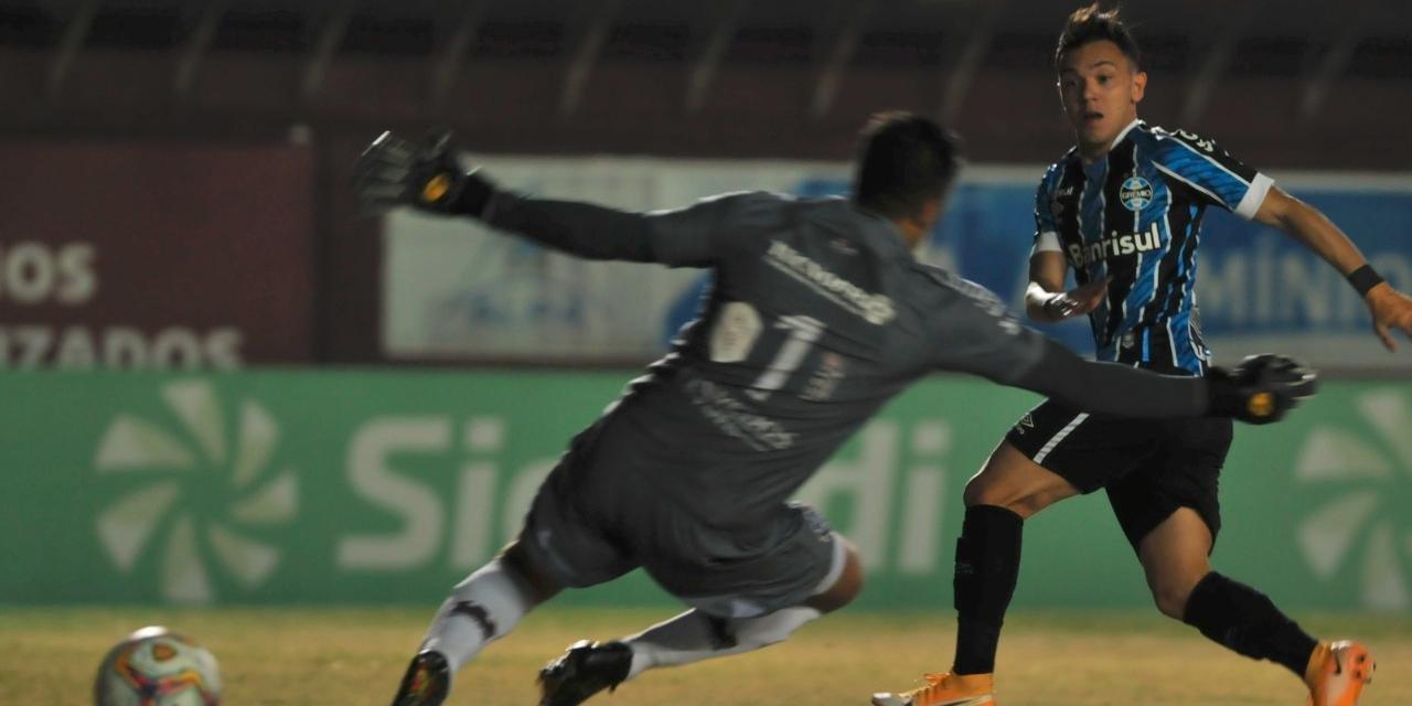Pepê marcou primeiro gol na vitória sobre o Caxias por 2 a 0 na noite desta quarta, no Centenário