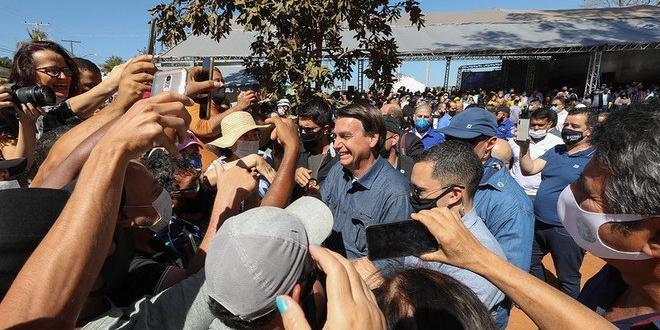 Presidente viajou a Caldas Novas, neste sábado, para participar de inauguração da Usina de Energia Fotovoltaica