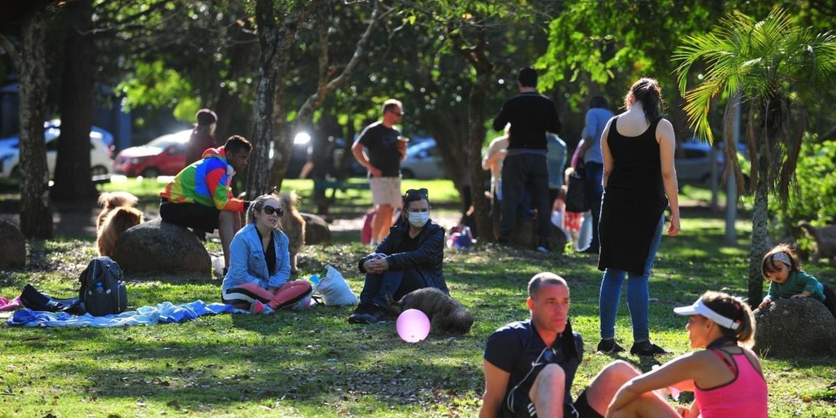 Reabertura dos parques vale de segunda a sexta-feira
