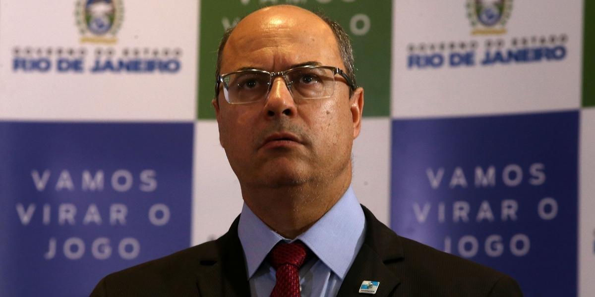 Wilson Witzel foi afastado por 180 dias do governo estadual do Rio de Janeiro