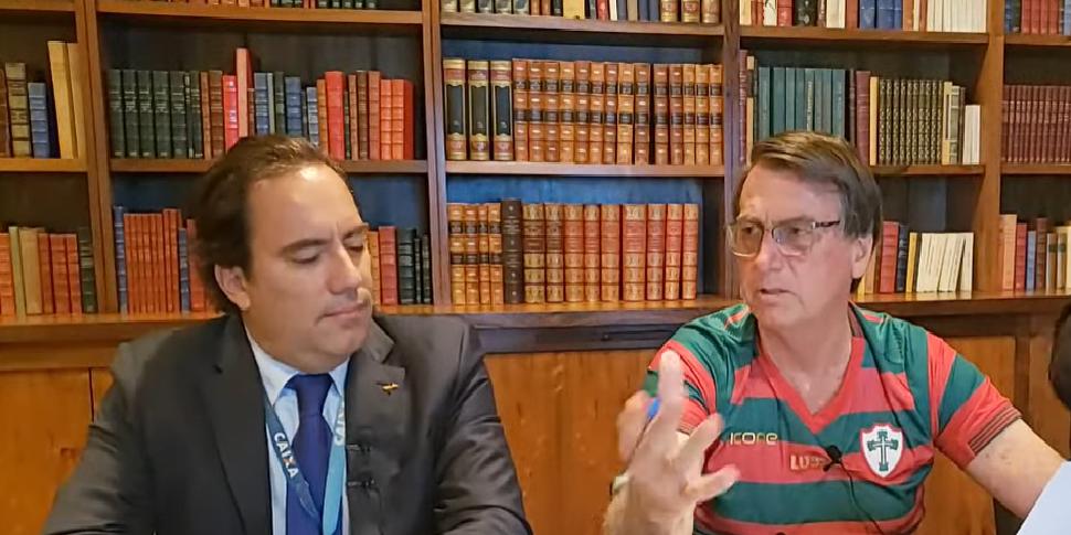 O presidente criticou sindicatos de professores no Brasil