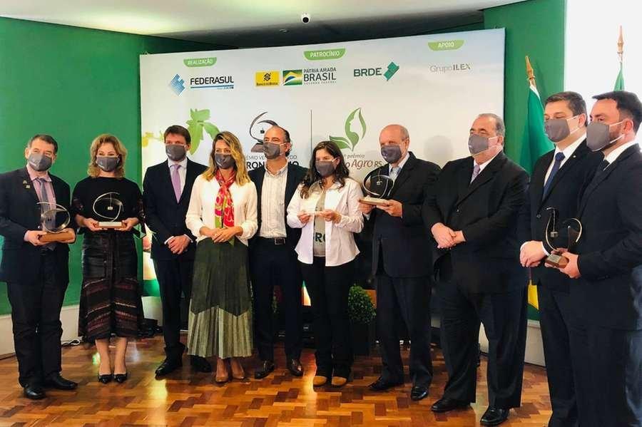No total, cinco empreendedores foram premiados pela Federasul