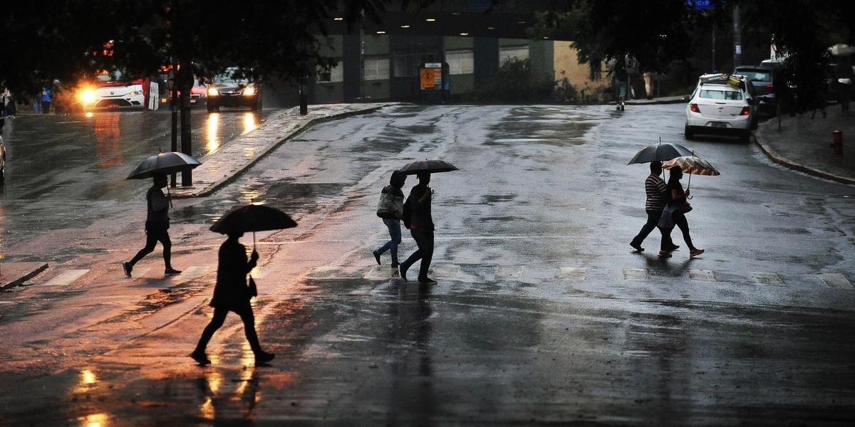 Domingo será de chuva no RS