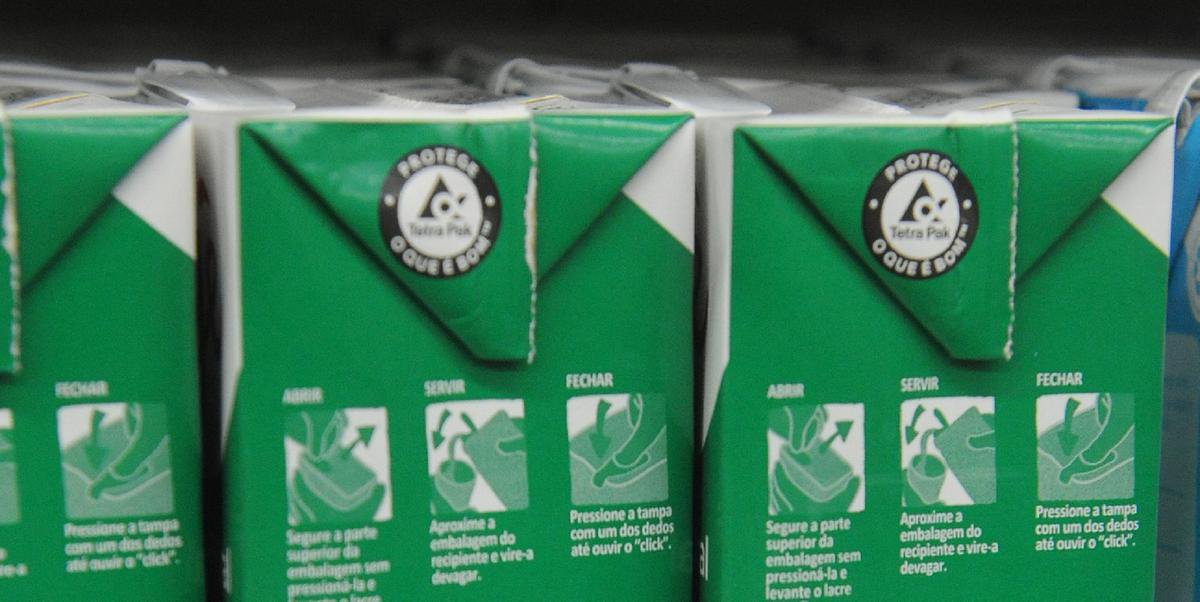 A população brasileira aumentou o consumo de leite durante a pandemia de Covid-19