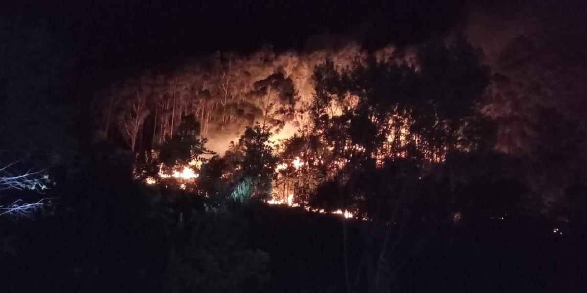 Conforme a Prefeitura de São Paulo das Missões, o fogo foi registrado nas comunidades de Cerro Grande e Dona Helena Norte