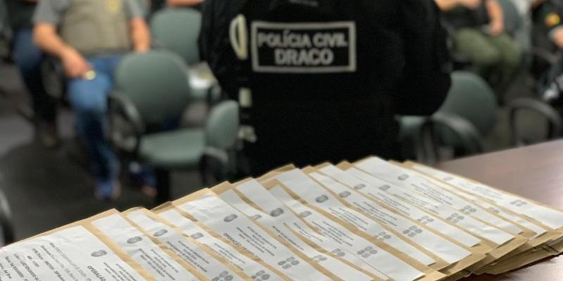 Operação Graneleiro executou 26 mandados de prisão preventiva, 28 mandados de busca e apreensão residencial e 30 mandados de apreensão de caminhões e carros