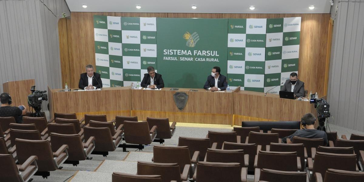 Relatório foi apresentado pela diretoria da federação durante coletiva de imprensa