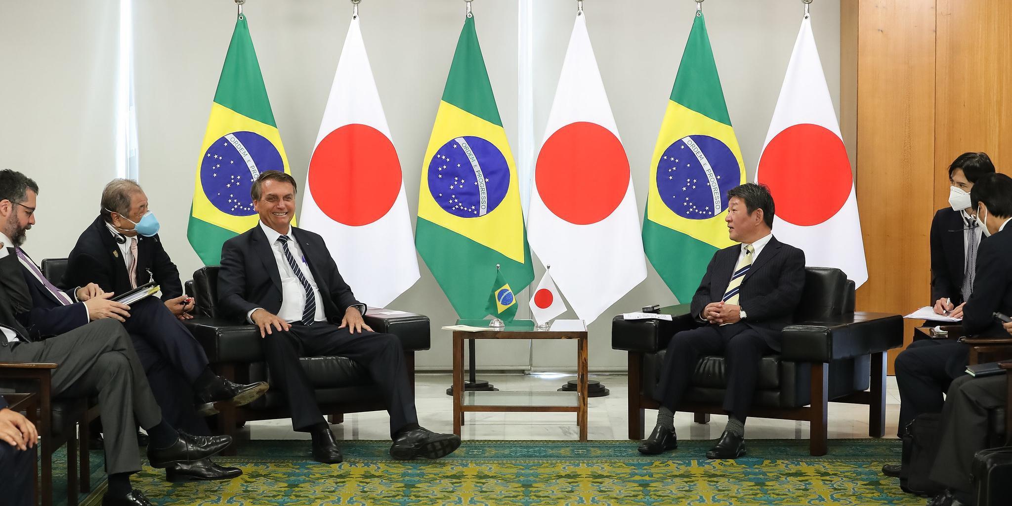 Bolsonaro foi convidado para abertura dos jogos de Tóquio