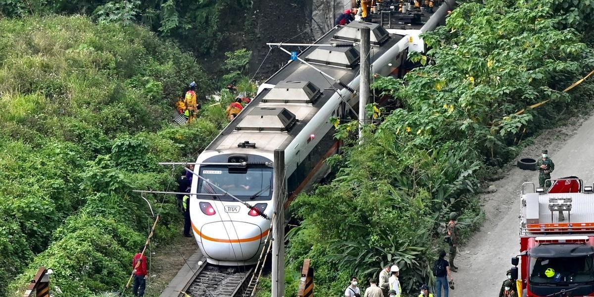 Taroko Express transportava 488 pessoas