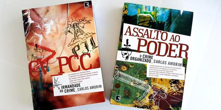 Dois livros do jornalista Carlos Amorim contam a história e trajetória da facção