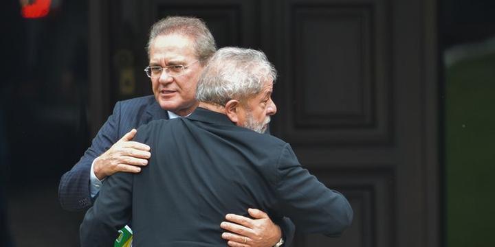 Lula não vai integrar ministério de Dilma, diz Renan Calheiros