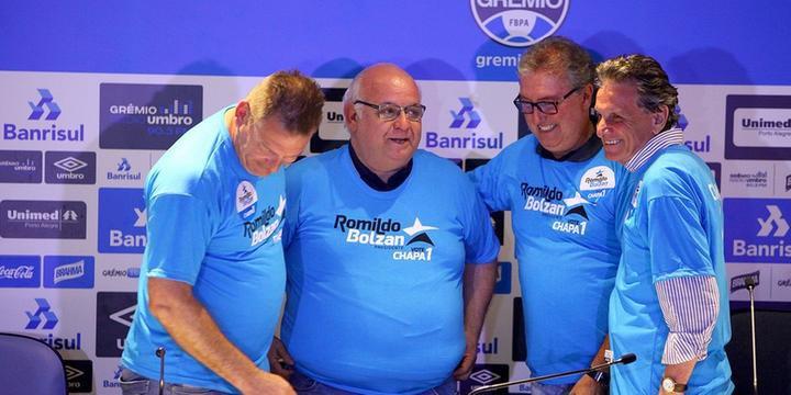 Romildo Bolzan é reeleito presidente do Grêmio