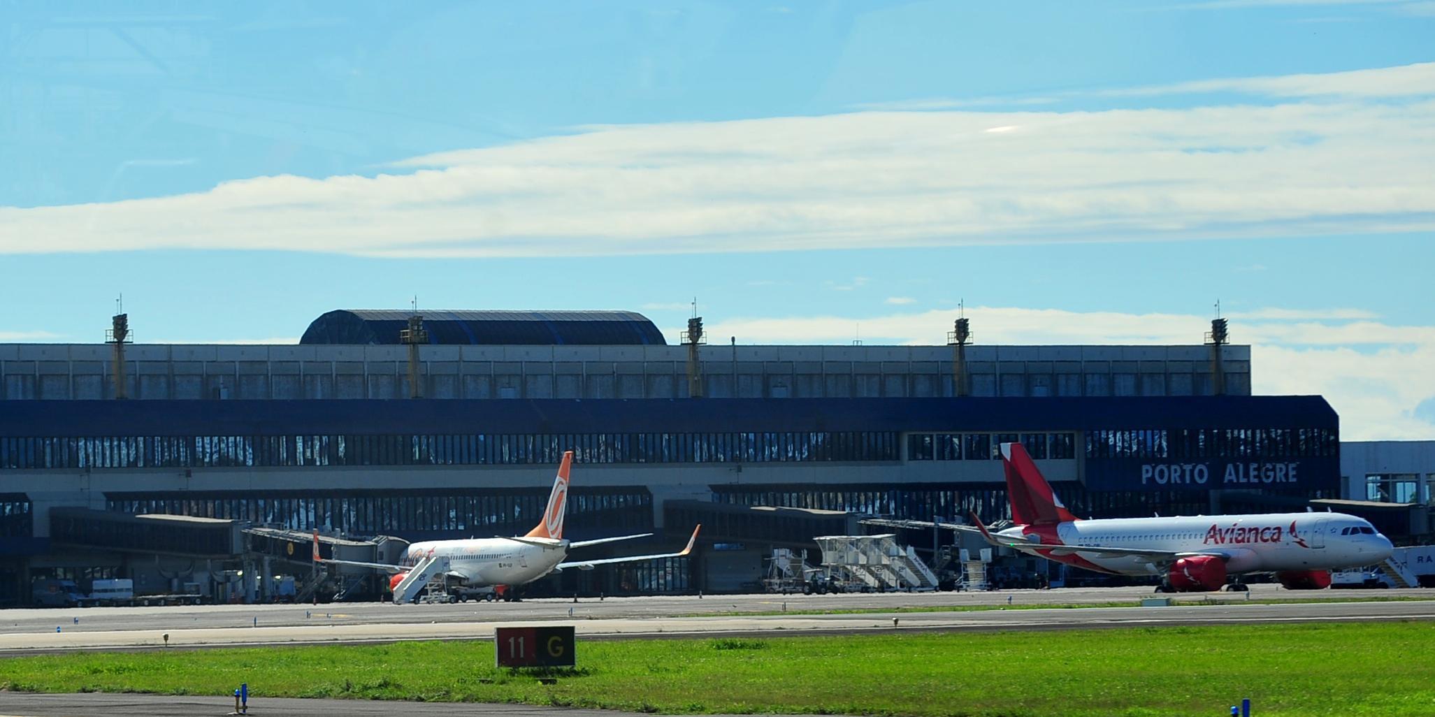PGE entrou com ação no STF para que pousos e decolagens de voos internacionais seja liberados no RS