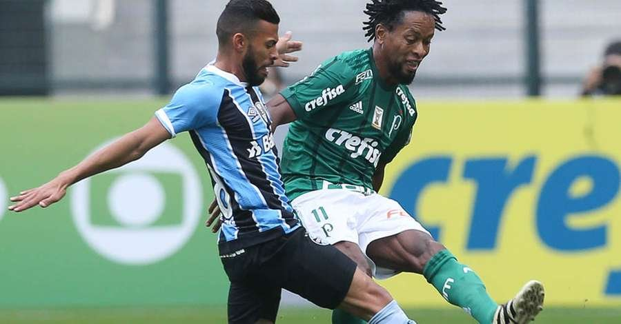 Palmeiras vence os reservas do Grêmio e se aproxima na tabela do Brasileirão 295d9b2d69414