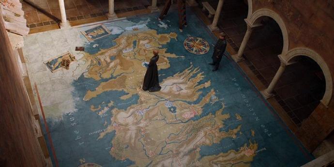 Designer Explica Processo De Criação Do Mapa De Cersei Em Game Of