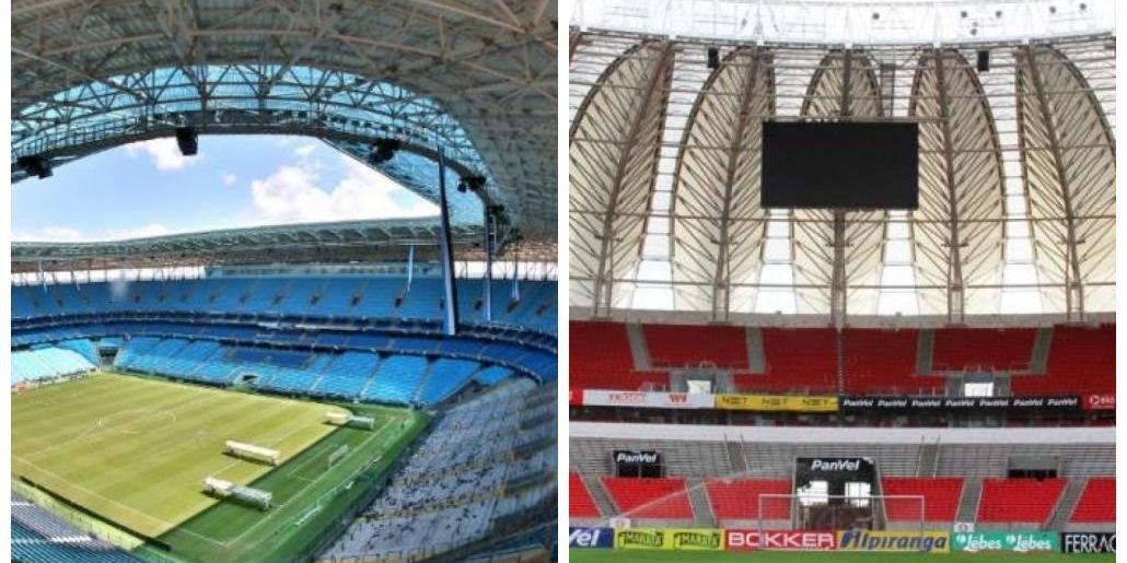 Futebol não deve retornar aos estádios de Porto Alegre pelos próximos 15 dias