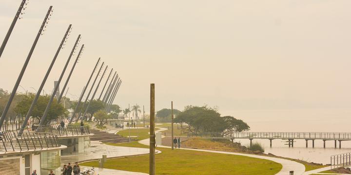 Nova Orla do Guaíba é inaugurada em Porto Alegre com restaurante panorâmico b923b844f96