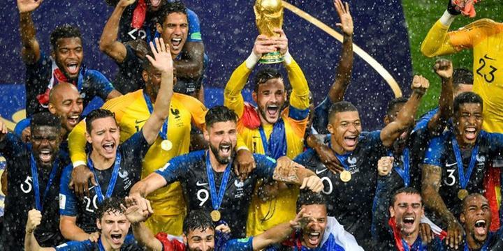 a927f01071 França vence Croácia e é bicampeã do mundo