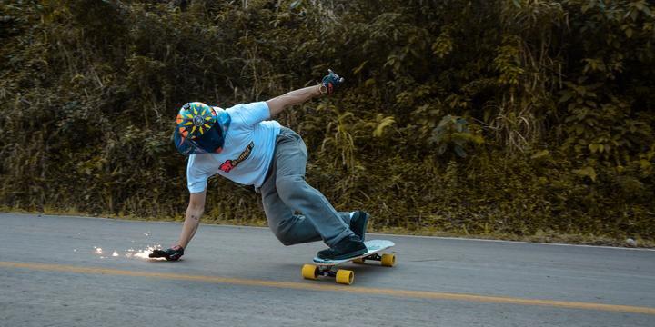 b9f17c0c01b Skatista gaúcho disputa mundial de downhill na República Tcheca