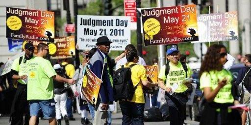 Cristãos fundamentalistas se preparam para apocalipse neste sábado